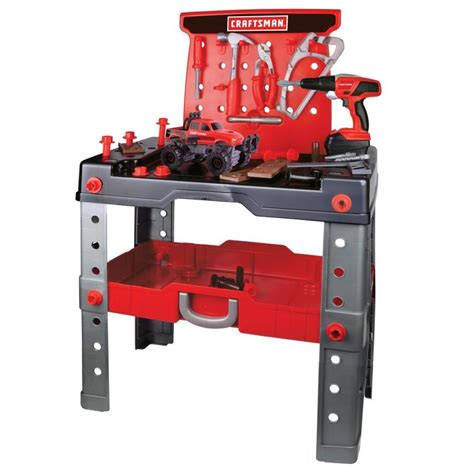 Craftsman Kids Workbench And Tools